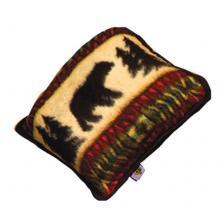 Jacquard Bear Adventure Pillow