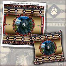 Micro Mink Sherpa Bear Ridge Pillow