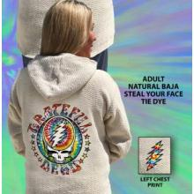 Natural Baja Steal Your Face Tie Dye
