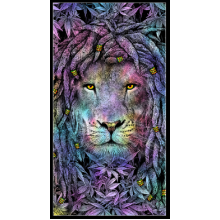 Rasta Lion Towel